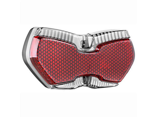 Busch + Müller Toplight View Brake Tec - Éclairage vélo - fonction de feu de stop rouge/transparent